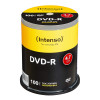 EUR 16,99 - DVD-R 4,7 GB Intenso 16x Speed in Cakebox 100 Stk